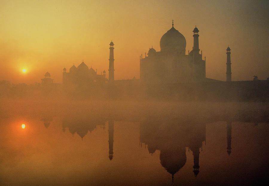 Taj Mahal Photograph by Neal J. Wilson