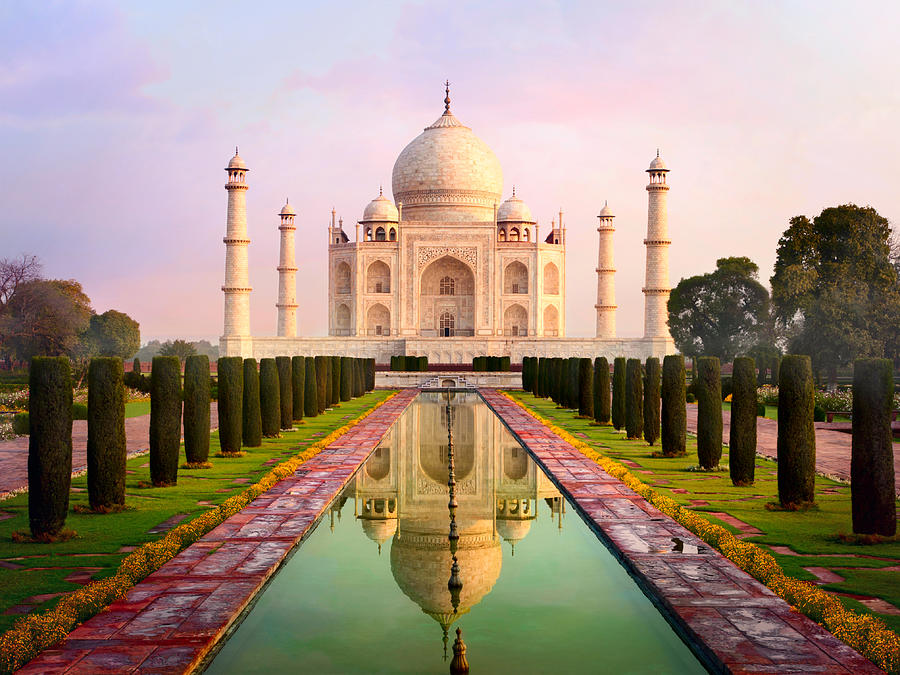 Taj Mahal Spectacular Early Morning View Photograph by Chuvipro