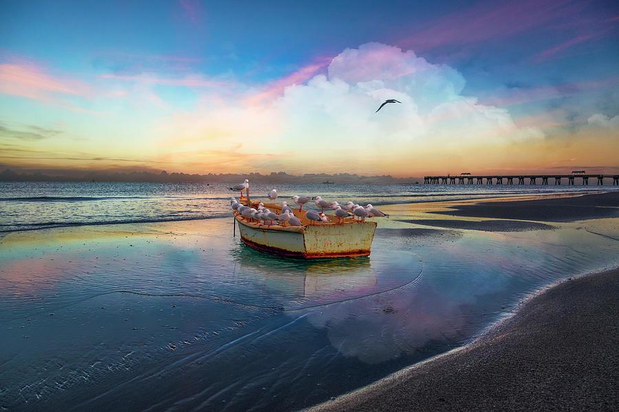 Take Flight at Dawn by Debra and Dave Vanderlaan