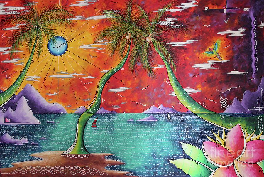 Take Me to the Tropics Tropical Surrealism MAD Wonderland by Megan Duncanson by Megan Duncanson