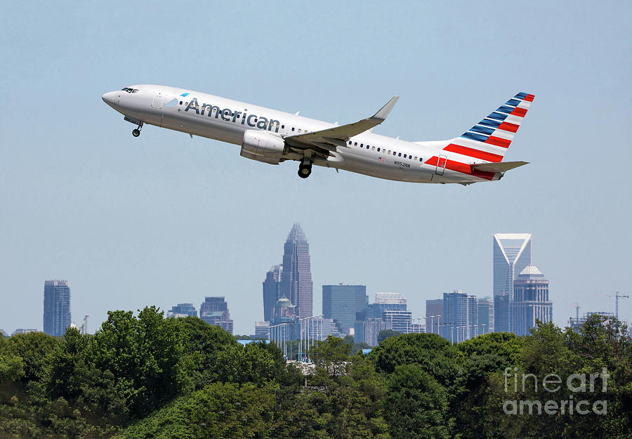 Take Off from Charlotte by Kevin McCarthy