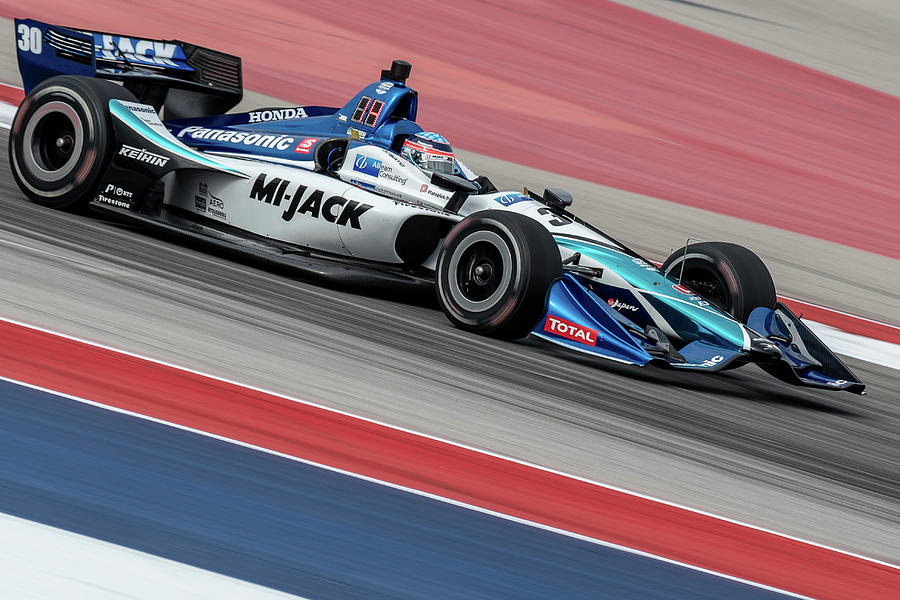 Takuma Sato, IndyCar Classic, March 2019 by Dave Wilson