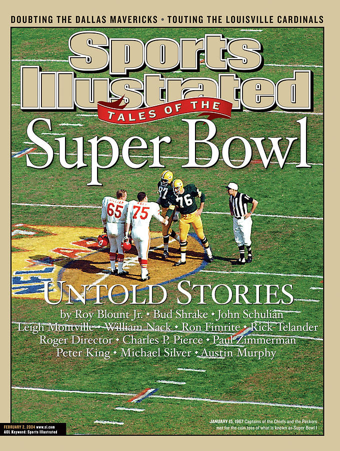 Tales Of The Super Bowl Untold Stories Sports Illustrated Cover Photograph by Sports Illustrated