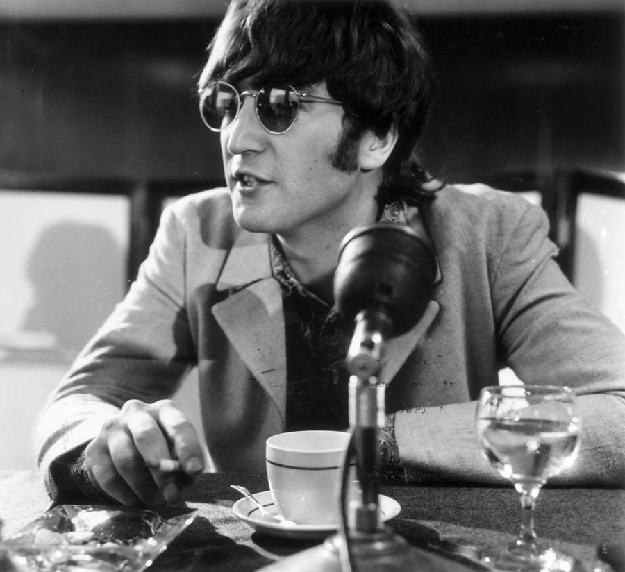 John Lennon Photograph - Talk To John by George Stroud