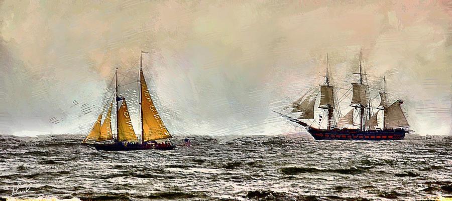 Tall Ships by GW Mireles