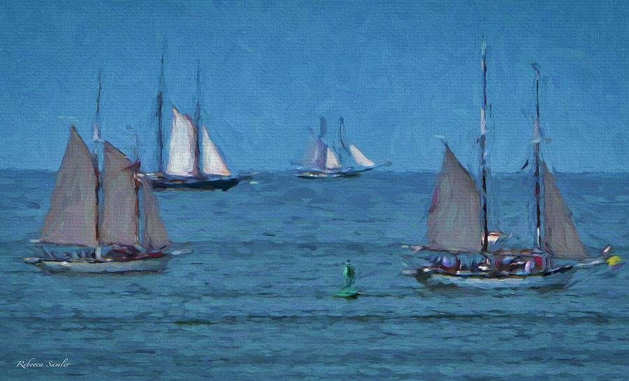 Tall Ships by Rebecca Samler