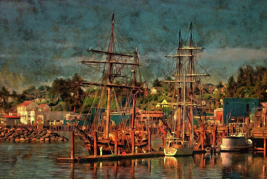 Tall Ships by Thom Zehrfeld