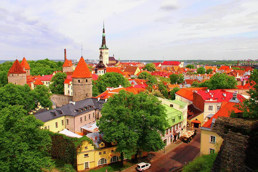Tallinn Old Town, Estonia Photograph by Annhfhung