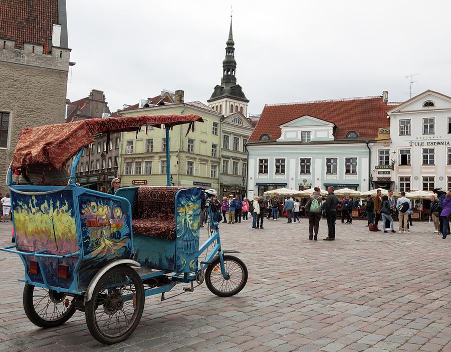 Tallinn Town Square  by John Daly