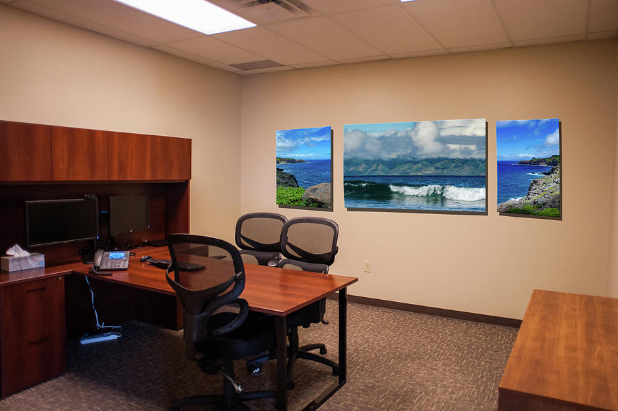 Tamara Office West Wall by Jeff Phillippi