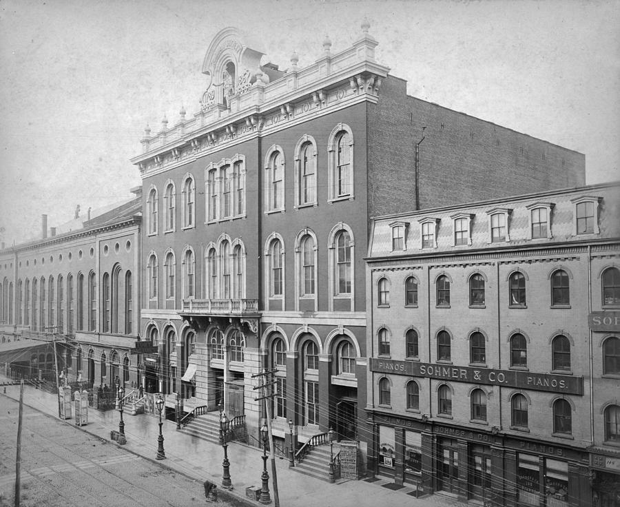 Tammany Hall Photograph by R. Gates