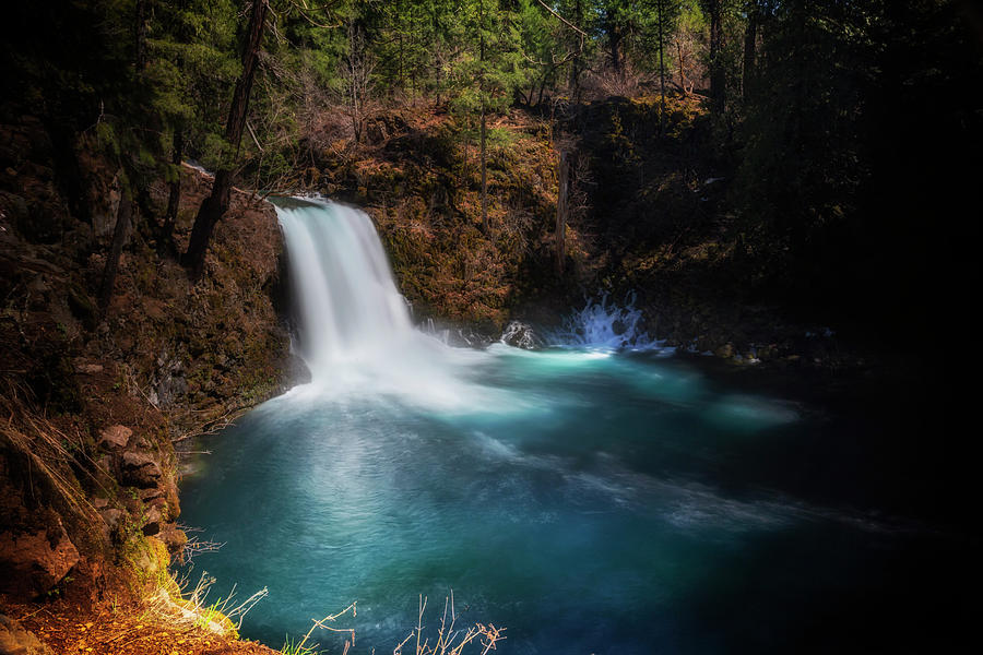 Tamolitch Falls by Cat Connor