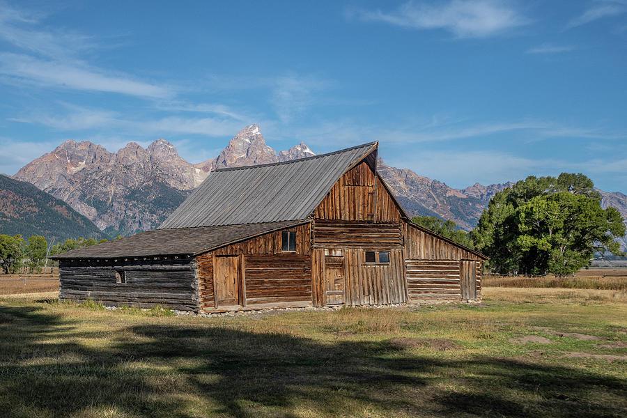 T.A.Moulton Barn Mormon Row by Matthew Irvin