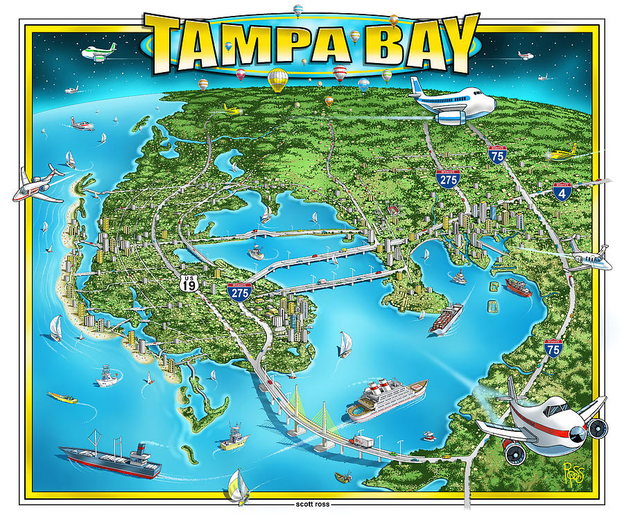 Tampa Bay 2019 by Scott Ross