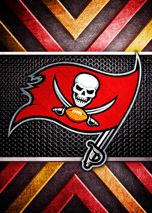 Tampa Bay Buccaneers Logo Art Digital Art By William Ng