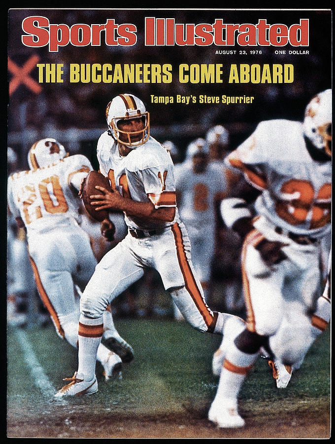 Tampa Bay Buccaneers Qb Steve Spurrier... Sports Illustrated Cover Photograph by Sports Illustrated