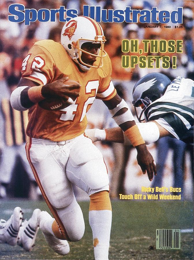 Tampa Bay Buccaneers Ricky Bell, 1979 Nfc Divisional Sports Illustrated Cover Photograph by Sports Illustrated