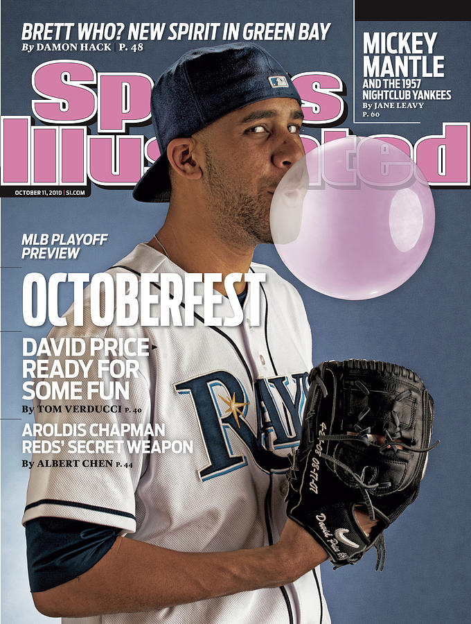 Tampa Bay Rays David Price Sports Illustrated Cover Photograph by Sports Illustrated