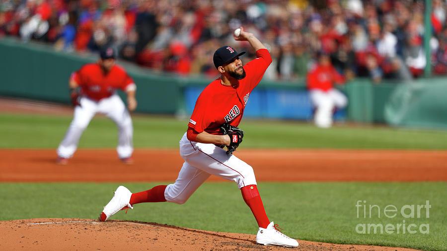 Tampa Bay Rays V Boston Red Sox Photograph by Omar Rawlings