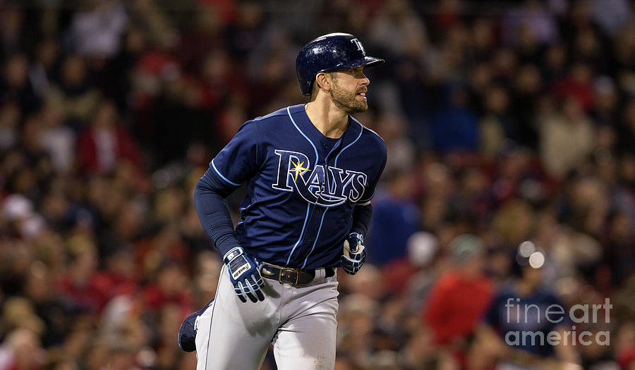 Tampa Bay Rays V Boston Red Sox Photograph by Rich Gagnon