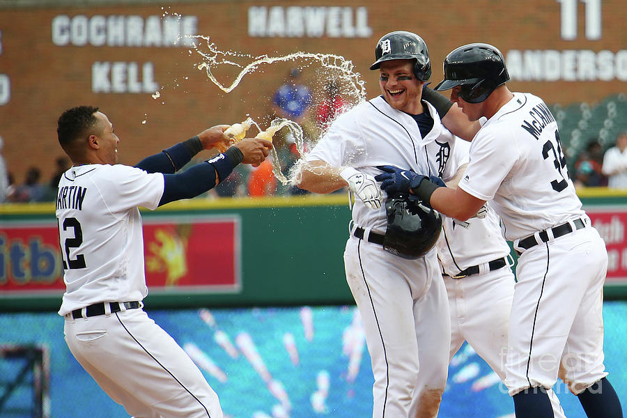 Tampa Bay Rays V Detroit Tigers Photograph by Gregory Shamus