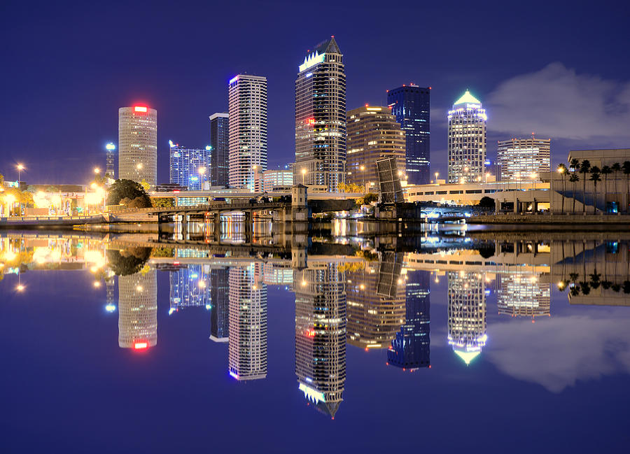 Tampa Bay Skyline Photograph by Sean Pavone