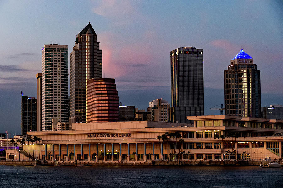 Tampa in the Early Evening by Margaret Zabor