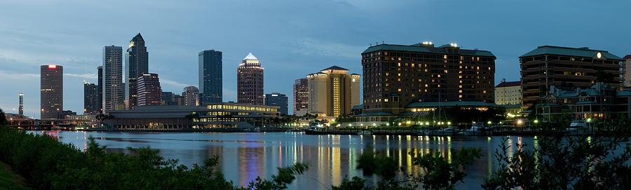 Tampa Skyline Photograph by Chris Pritchard