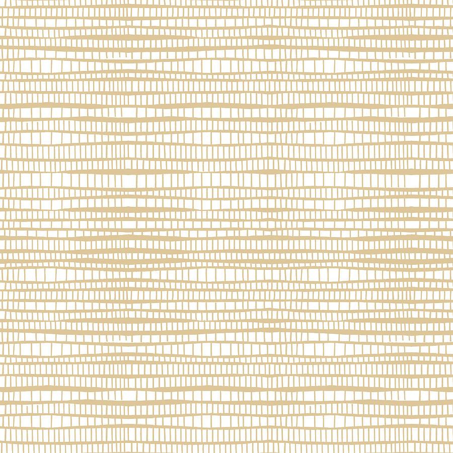 Tan Sand Mosaic Pattern by Jen Montgomery