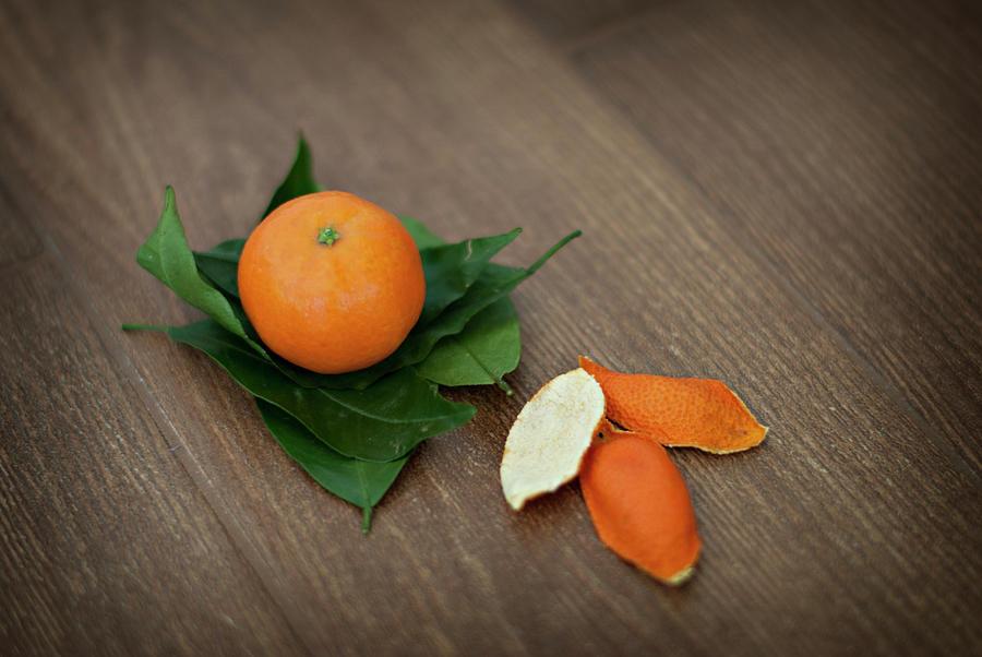 Tangerine Photograph by Carla Corigliano
