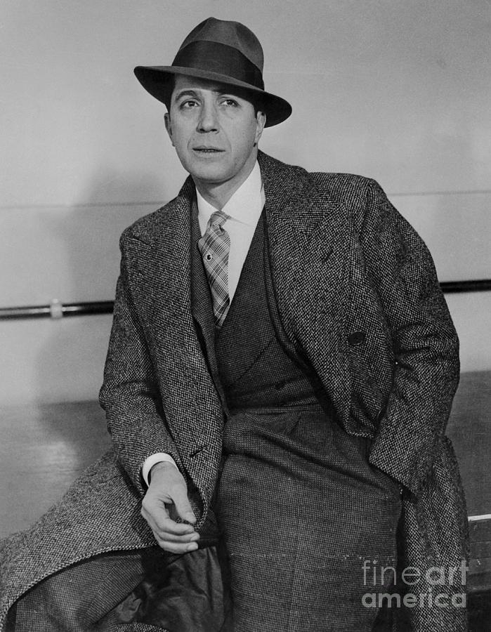 Tango Dancer Carlos Gardel Wearing Suit Photograph by Bettmann