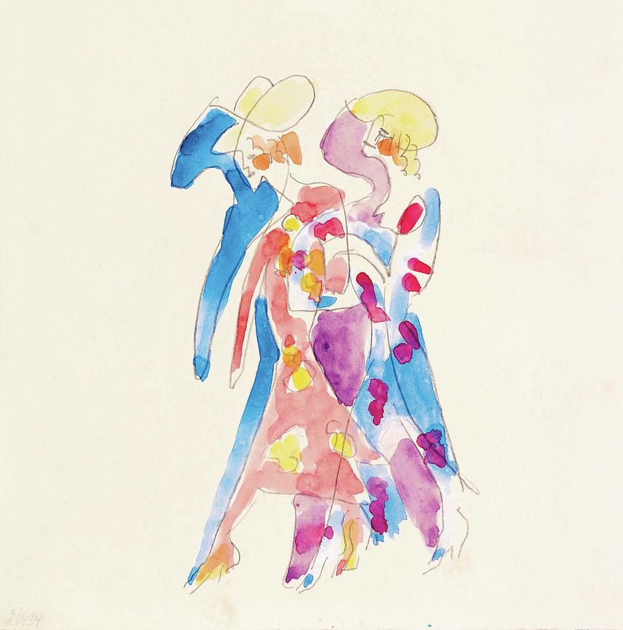 Ernst Ludwig Kirchner Painting - Tanzerinnen - Digital Remastered Edition by Ernst Ludwig Kirchner