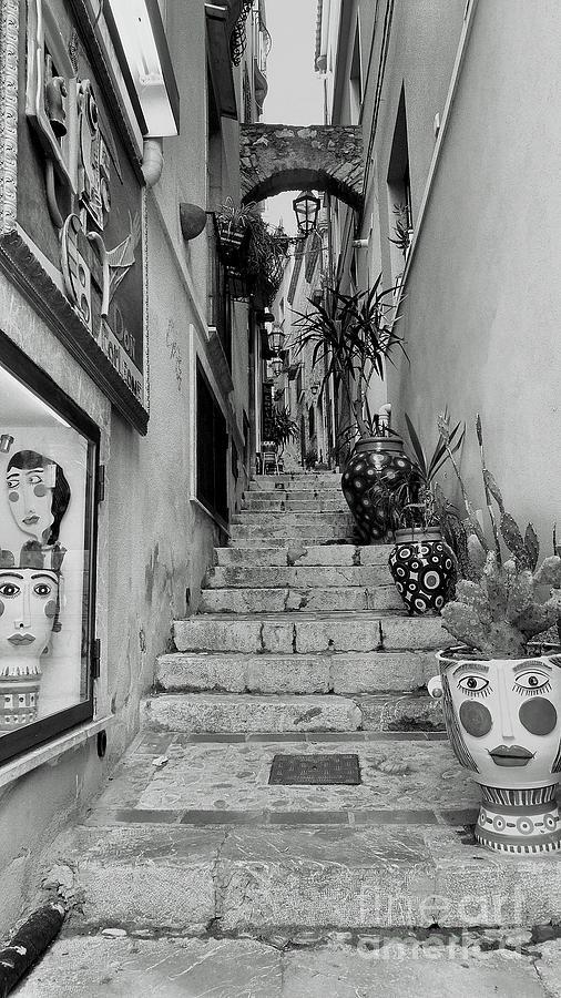 Taormina steps by Peter Skelton