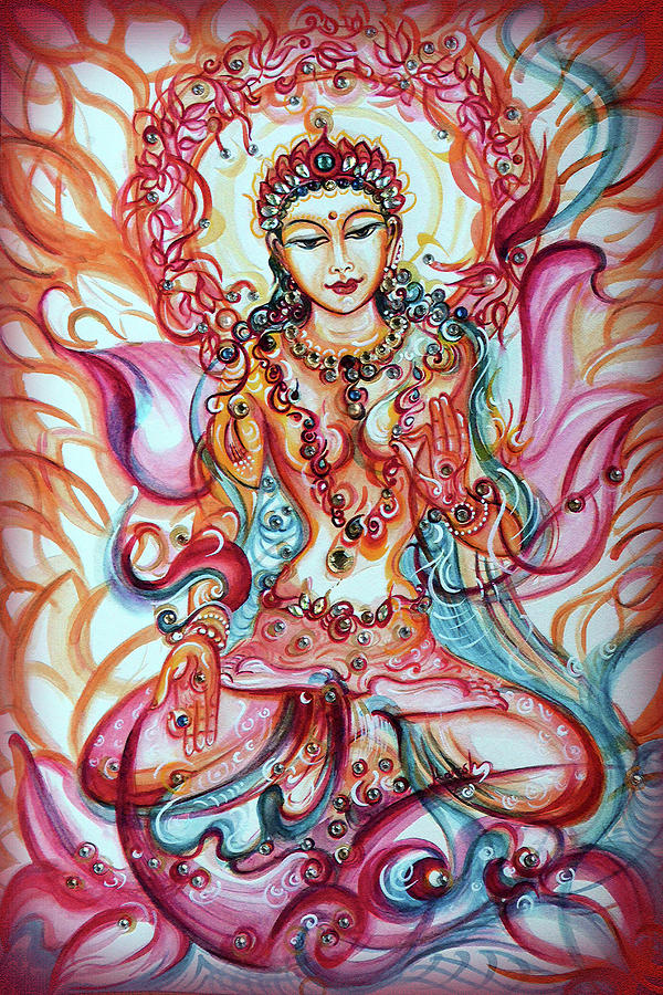 Tara - Goddess of Bliss and Healing  by Harsh Malik