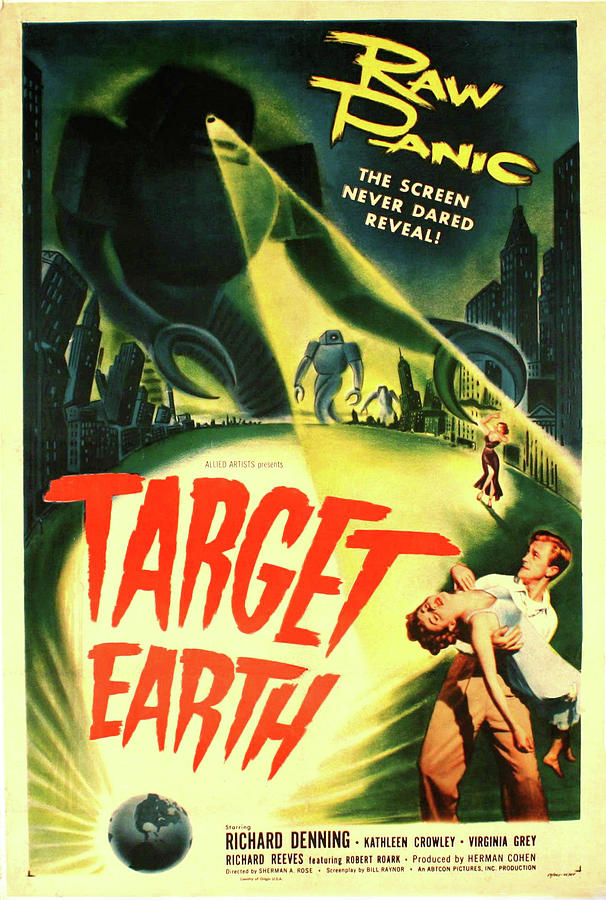 Target Earth by Allied Artists