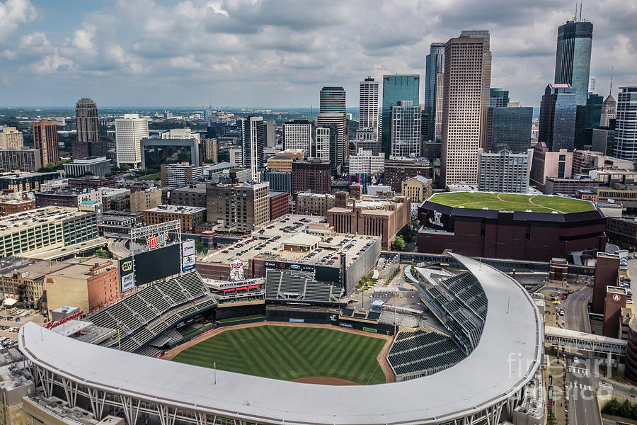 Target Field and the City by Habashy Photography