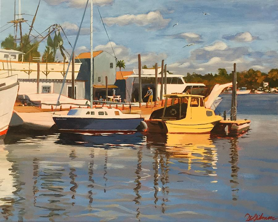 Tarpon Springs Harbour by David Gilmore
