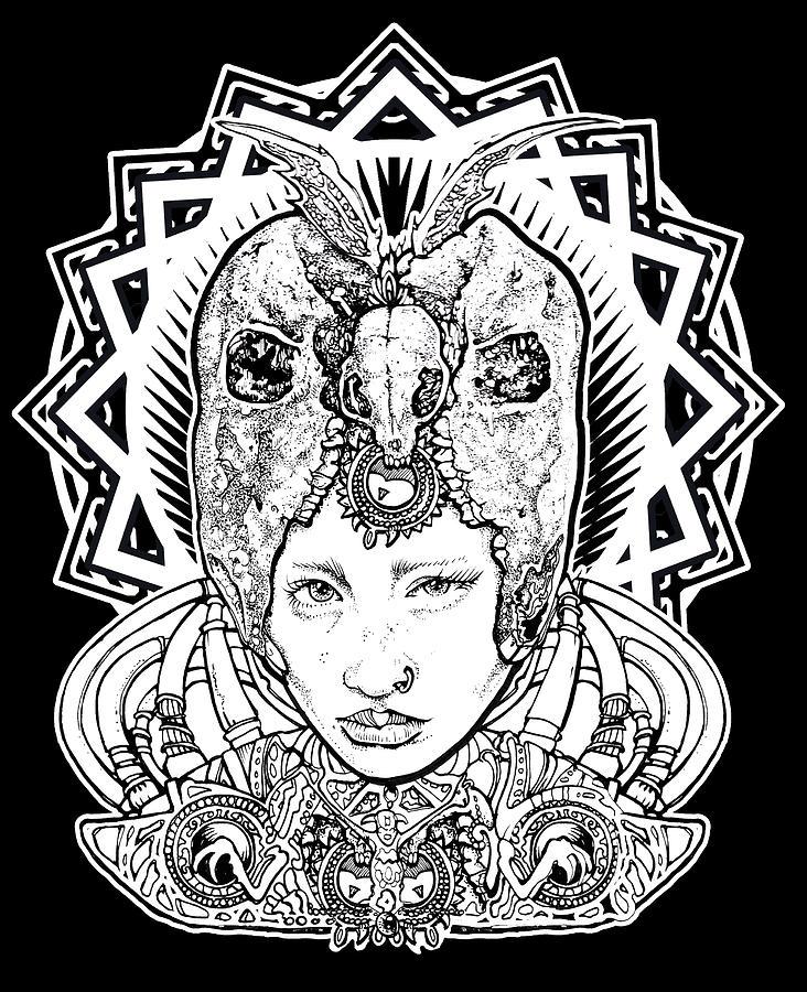 Tartaria Princess Drawing by Thomas Ambrose DENNEY