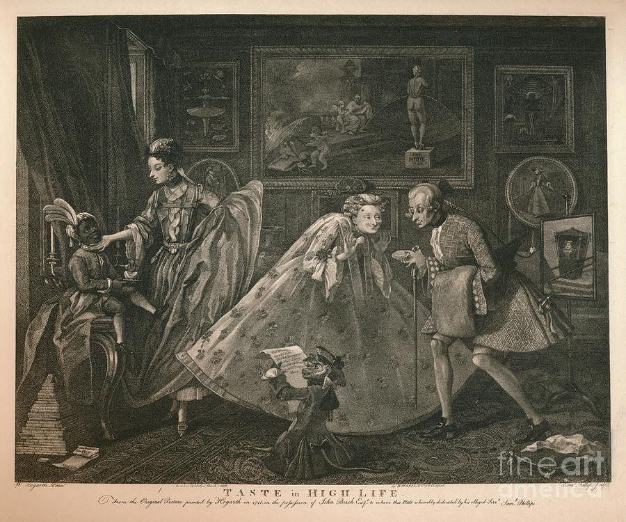 Taste In High Life, 1798 Drawing by Print Collector