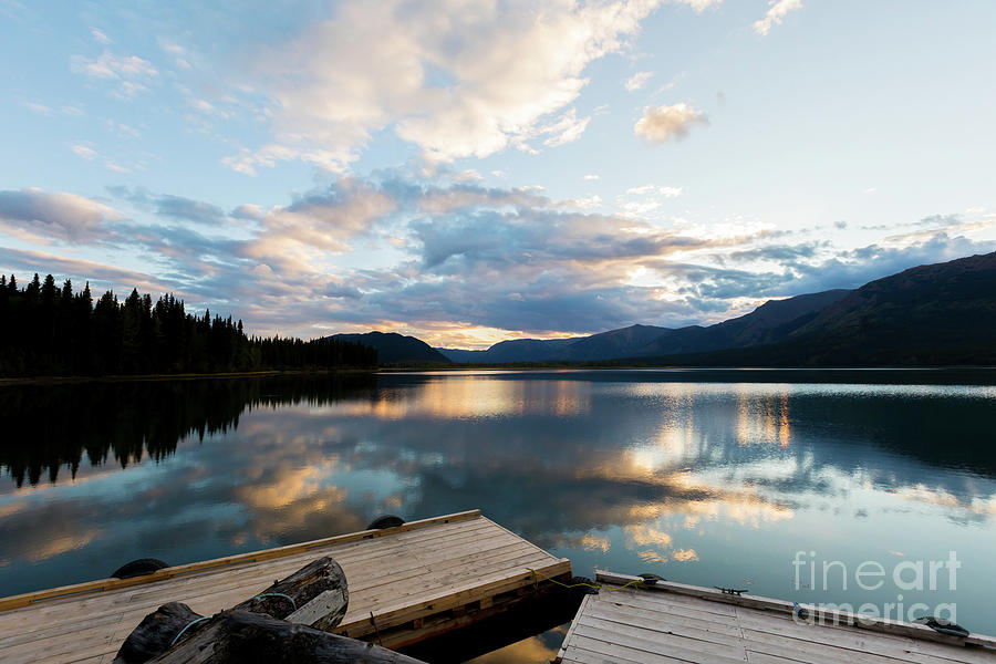 Tatogga Lake Sunset by Alanna DPhoto