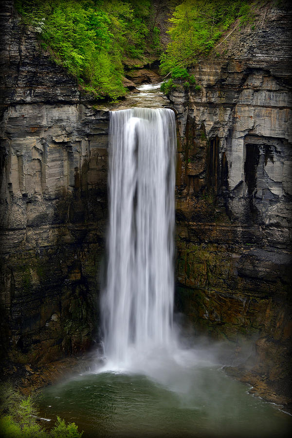 Taughannock Falls  by Michael Morse