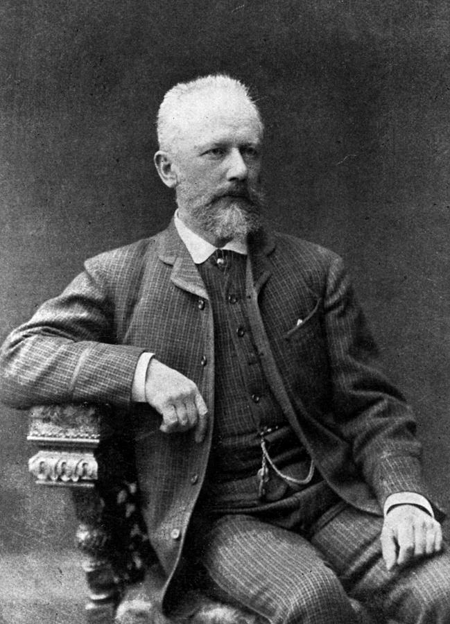 Tchaikovsky Photograph by Hulton Archive