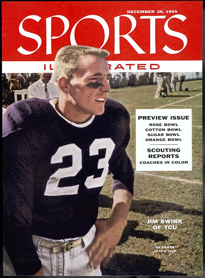 Tcu Jim Swink Sports Illustrated Cover Photograph by Sports Illustrated