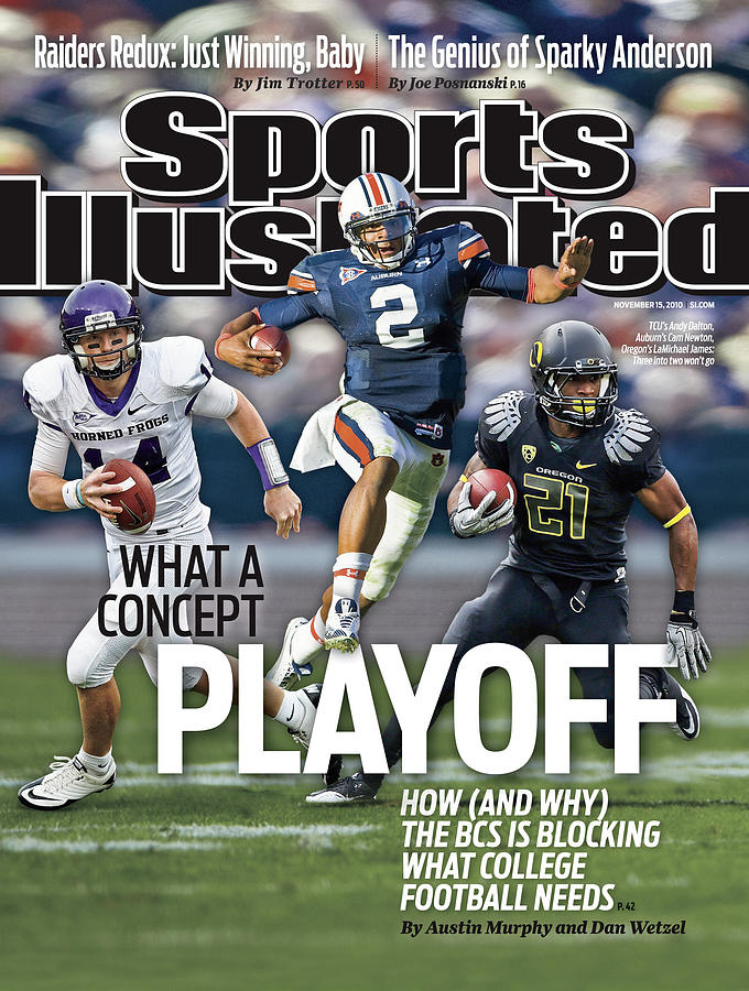 Tcu V Utah Sports Illustrated Cover Photograph by Sports Illustrated