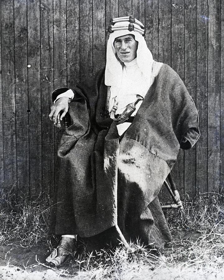 T.e. Lawrence In Arabian Garb Photograph by Bettmann