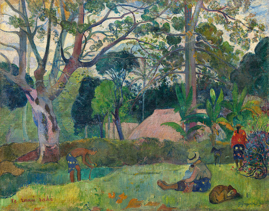 French Painters Painting - Te Raau Rahi  by Paul Gauguin