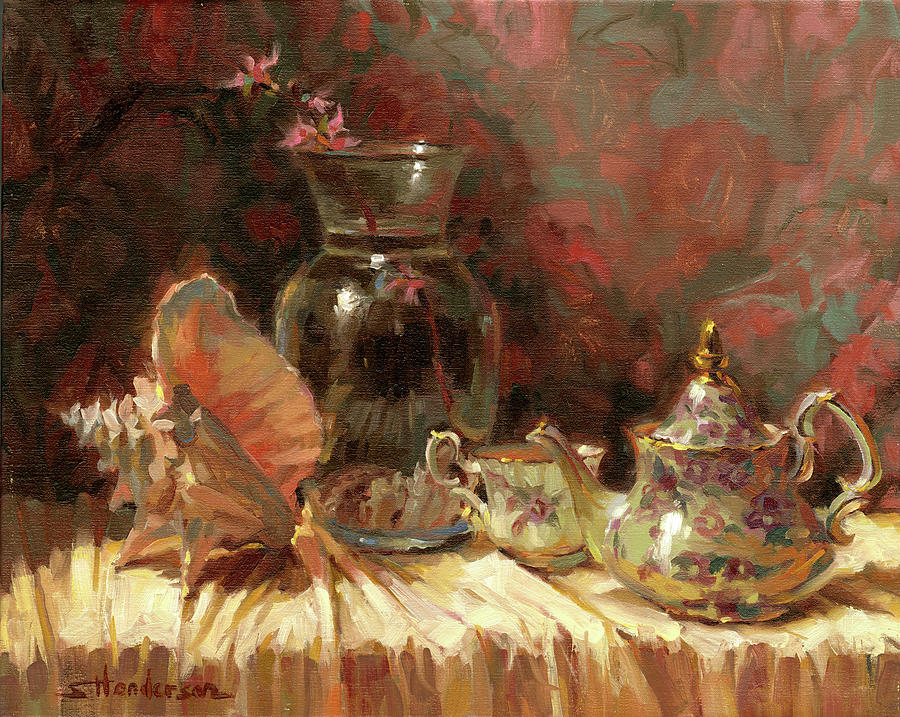 Tea by the Sea by Steve Henderson