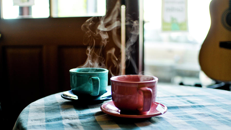 Tea For Two Photograph by Cindy Loughridge
