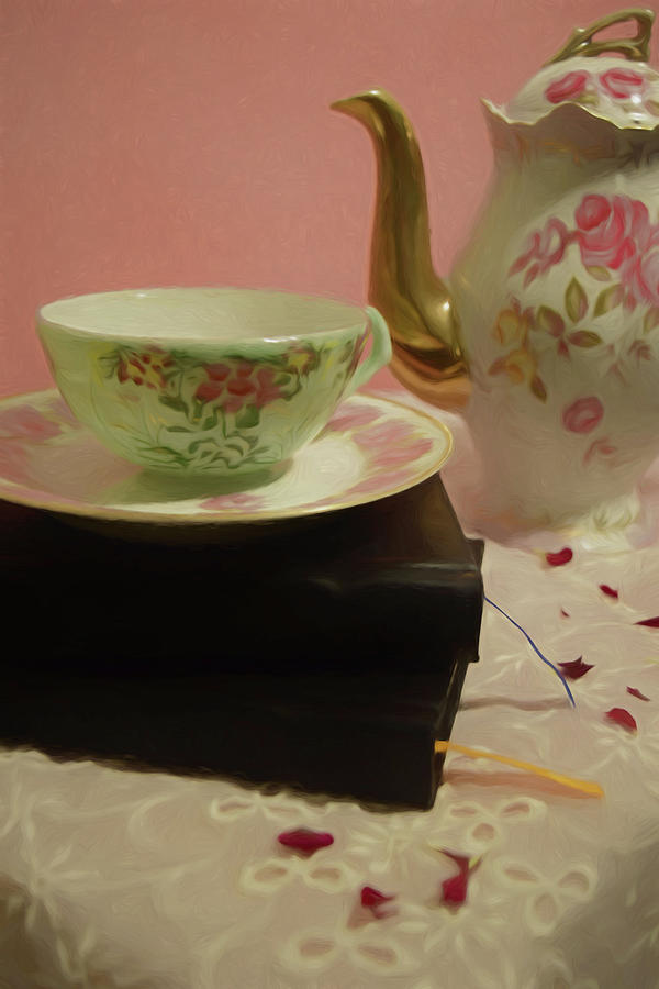 Tea Party Time by Pamela Walton