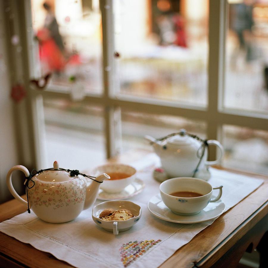 Tea Set Photograph by Junghyun Photo